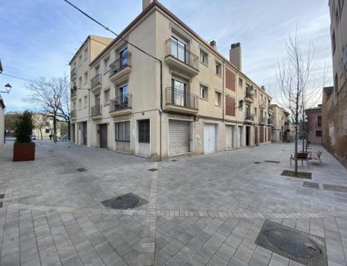 Urbanization of c/ Santa Anna and c/ de la Fàbrica de Sant Cugat del Vallès