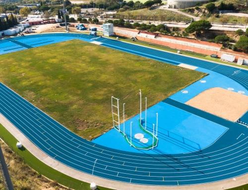 Athletics track of Mataró