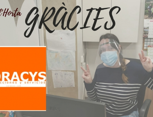 From VORACYS we continue to support the health centers and small shops.